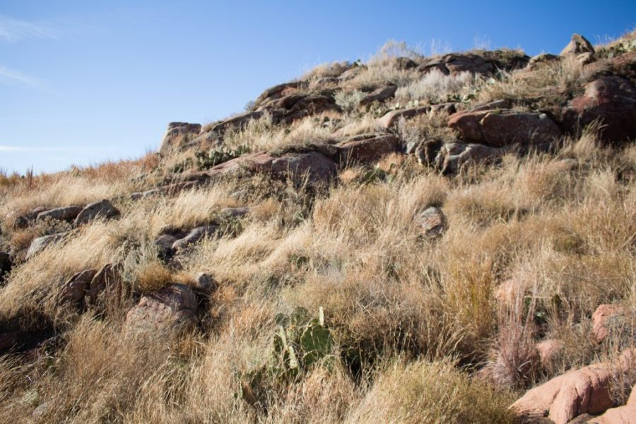 Quartz Mountain's New Horizon trail may not be much of a trail, but if you're up for scrambling up the rocks it ends with a fantastic view! Southwest Oklahoma   Teaspoon of Nose