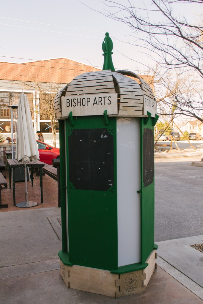 If you're looking for a fun weekend getaway try the Bishop Arts District of Dallas, Texas. It's got all the amenities of a big city in a cozy street feel!   Teaspoon of Nose
