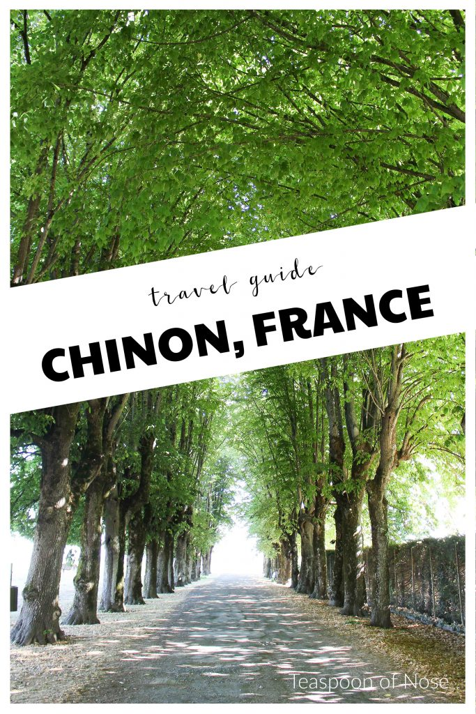 Spend a few days in the idyllic town of Chinon in the Loire Valley- its the perfect way to relax!! | Teaspoon of Nose