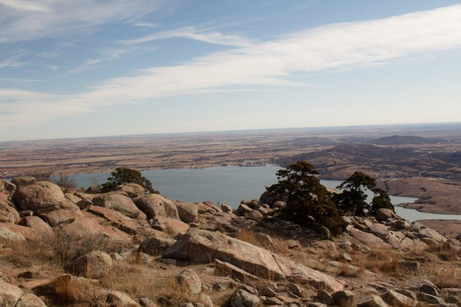 Oklahoma DOES have a mountain! Mt. Scott is in the heart of the Wichita Mountains Wildlife Refuge, and the views are beautiful! | Teaspoon of Nose