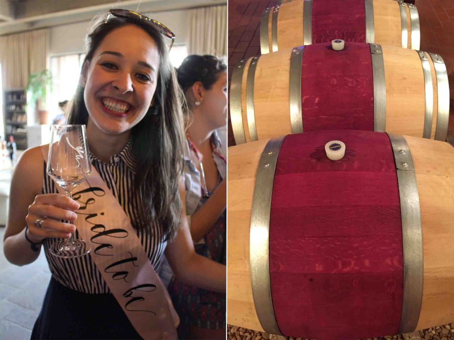 Celebrating Laura's bachelorette weekend with a Virginia winery weekend! | Teaspoon of Nose