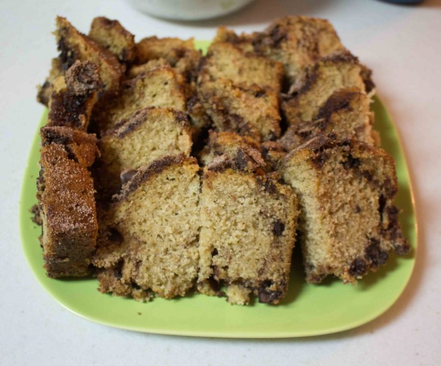 Cinnamon Chocolate Chip Bread is a decadent way to eat dessert for breakfast! | Teaspoon of Nose