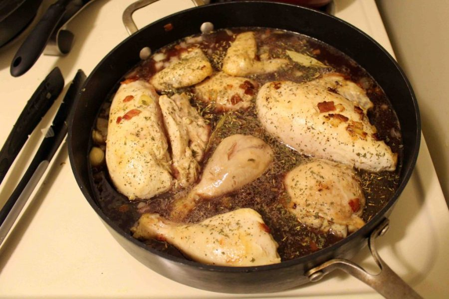 Coq au vin is a fancy French dish that's surprisingly easy to put together! | Teaspoon of Nose