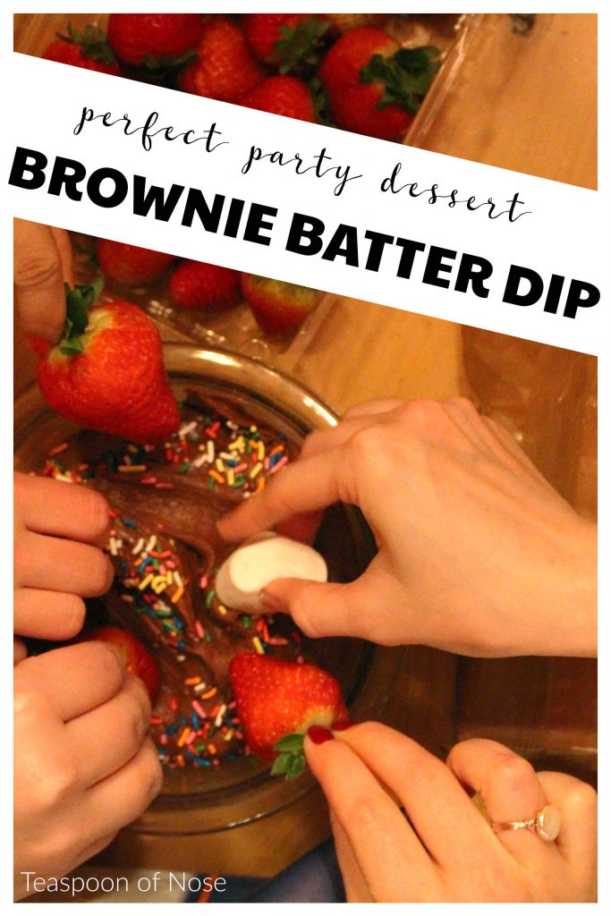 Brownie batter is one of the most delicious things out there, and this brownie batter dip is the best way to eat it!