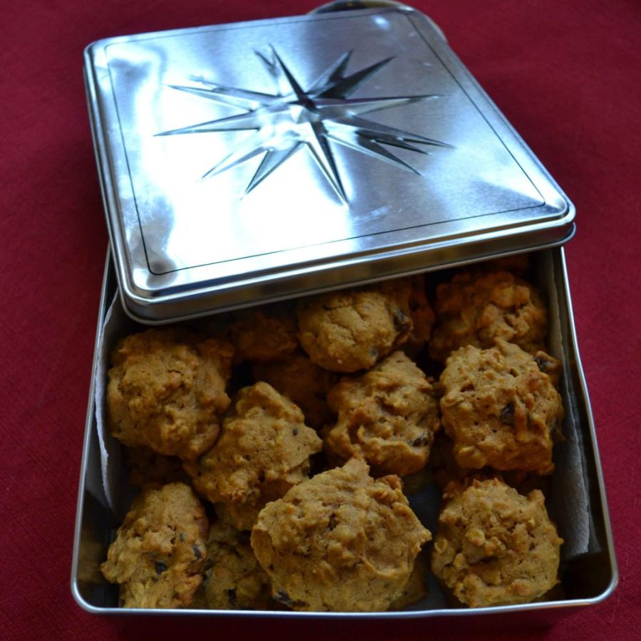 Pumpkin oat chocolate chip cookies give a great texture to a classic cookie!  Teaspoon of Nose
