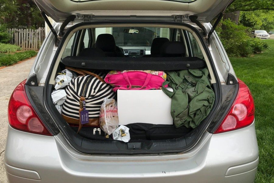 Need to pack for six months in a reasonable amount of space? Use this free packing list! | Teaspoon of Nose