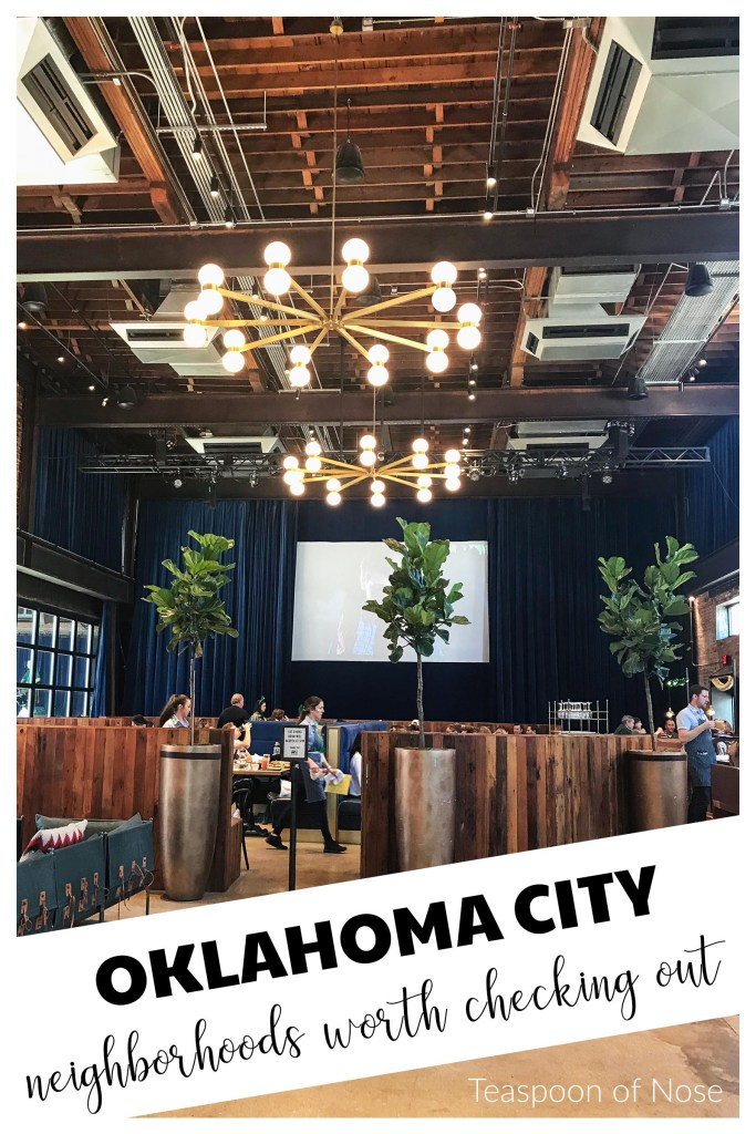 OKC has pockets of cute shops and great food that aren't immediately obvious. Here are a few of our favorite Oklahoma City neighborhoods!