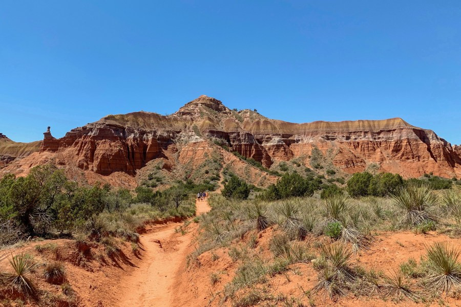 "Once famously called ""the best kept secret in Texas,"" Palo Duro Canyon State Park makes a perfect hiking trip destination!"