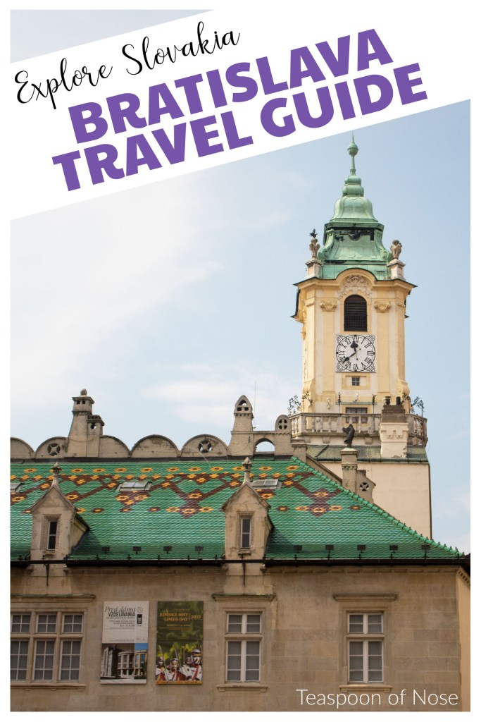 With classic old-world elegance, a unique history and a walkable old town Bratislava is the perfect place to explore for a weekend!