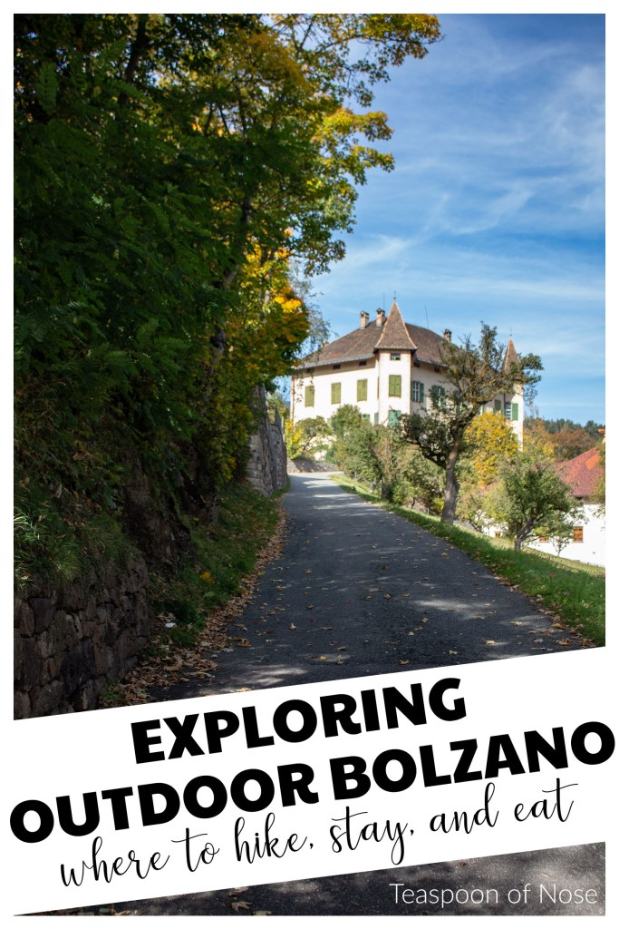 Bolzano is likely most known for getting outside! Whether you want a simple stroll or an all-day hike, I've got a few suggestions for experiencing outdoor Bolzano.