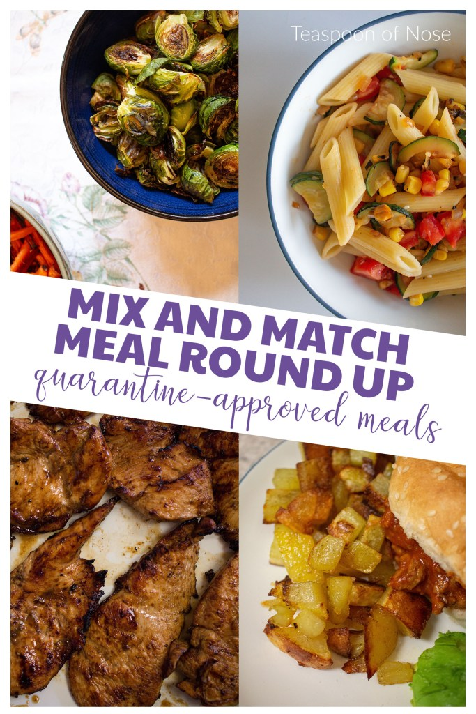 These recipes are perfect to flex for whatever the grocery store has in stock! Read on for a mix and match meal roundup.
