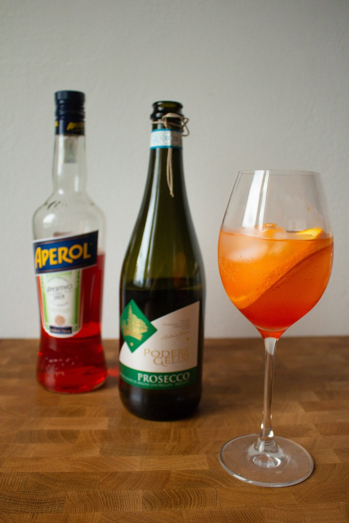 Aperol Spritz is a classic Italian apertivo, and they're so easy to make at home! I'm sharing the two different classic versions, and my own favorite aperol spritz recipe! | Teaspoon of Nose