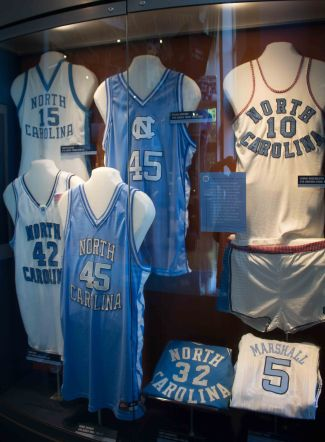 Celebrating UNC's powerhouse basketball program at the Carolina Basketball Museum!