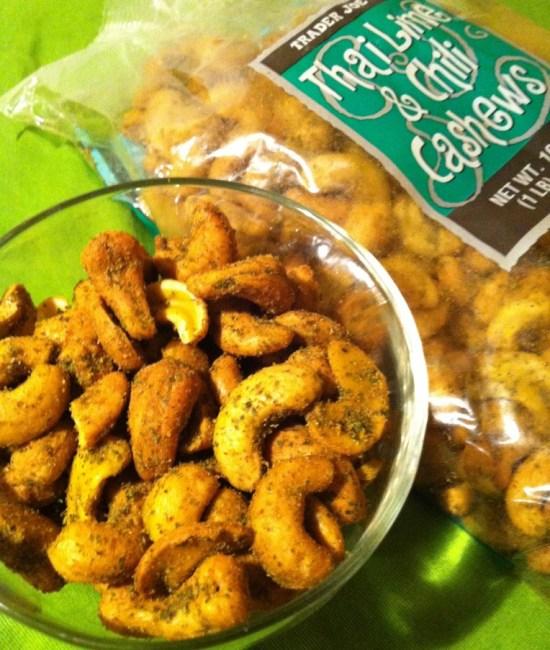 Trader Joes Thai Lime & Chili Cashews