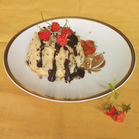 Dark Chocolate Chiffon Cake