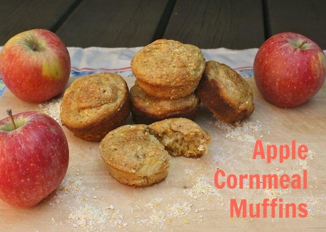 Apple Cornmeal Muffins   teaspooncomm.com/teaspoonofspice/