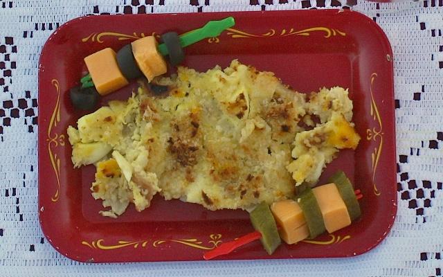 Wasabi Crab Casserole | Teaspoonofspice.com