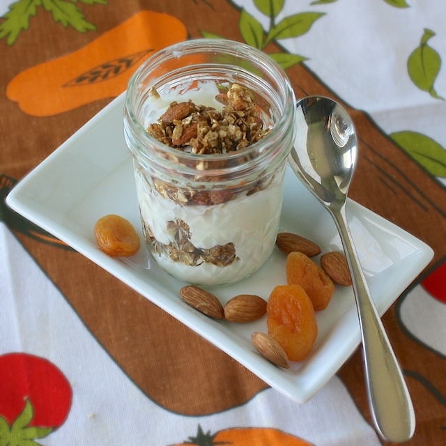 Molasses Almond Granola | Teaspoonofspice.com