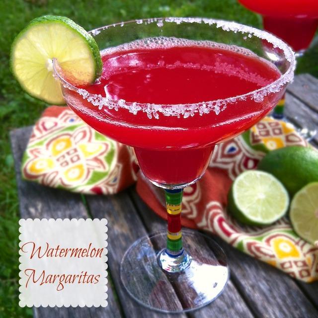 Watermelon Margaritas | Teaspoonofspice.com