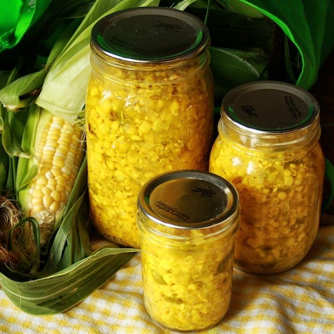 How To Freeze Fresh Corn | Teaspoonofspice.com