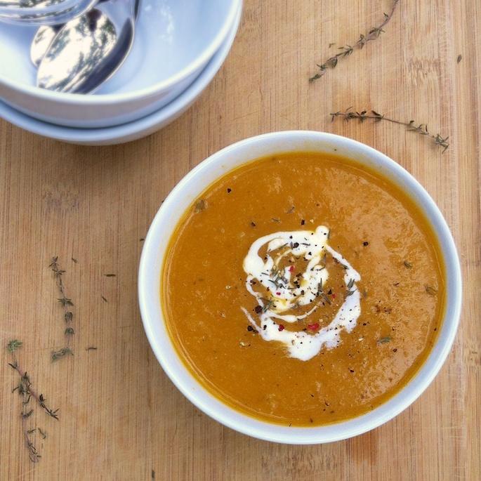 Jerusalem Artichoke Soup | Teaspoonofspice.com