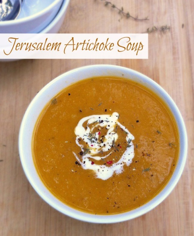 Jerusalem Artichoke Soup   Teaspoonofspice.com