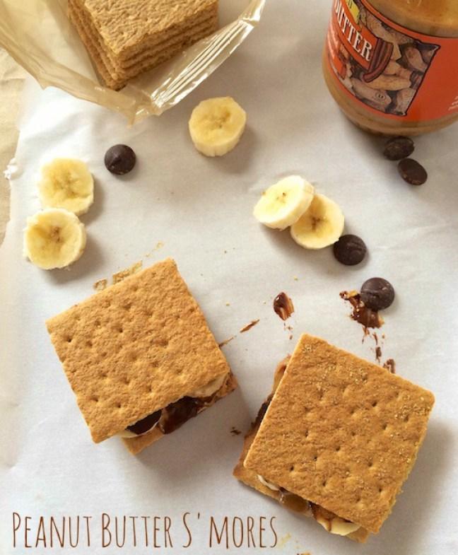 Peanut Butter S'mores | Teaspoonofspice.com