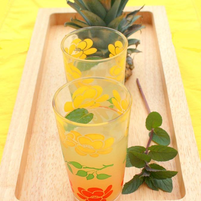 Ginger Pineapple Juice | Teaspoon Of Spice