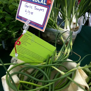 Garlic Scapes – Score!