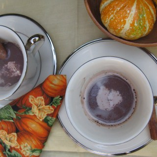 Spicy Moroccan Hot Chocolate
