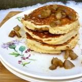 Cardamom Pear Pancakes via teaspoonofspice.com @tspbasil