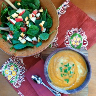 A Taste of Fall Soup & Salad