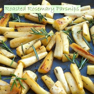 Roasted Rosemary Parsnips | Teaspoonofspice.com