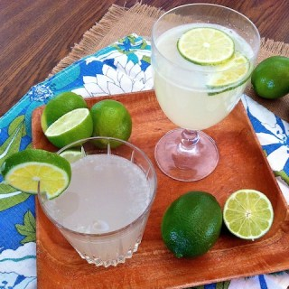 Fresh Limeade Fizz glasses