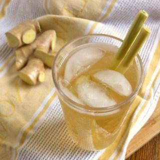 Ginger Lemongrass Fizz | Teaspoonofspice.com