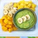 Avocado Vanilla Fruit Dip