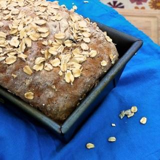 Homemade Oatmeal Raisin Bread