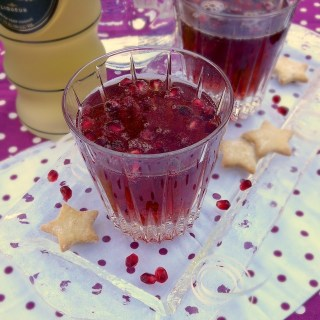 Pomegranate Gingertini   TeaspoonofSpice.com