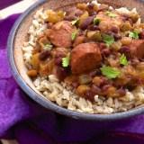 Easy Louisiana Red Beans & Brown Rice | Teaspoonofspice.com