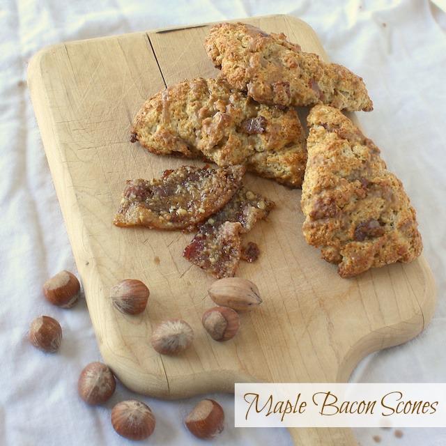 Maple Bacon Scones | @tspcurry
