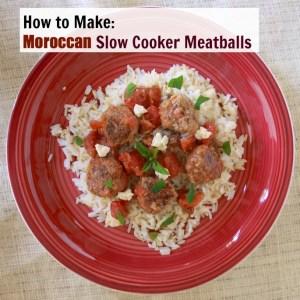 Moroccan Slow Cooker Meatballs   The Recipe ReDux