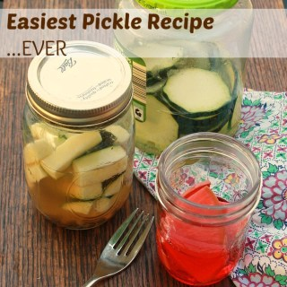 Easiest Pickle Recipe Ever | TeaspoonOfSpice.com