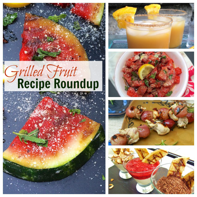 Grilled Fruit Recipe Roundup | Teaspoonofspice.com