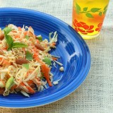 Lighter Cabbage Ramen Noodle Salad   TeaspoonOfSpice.com