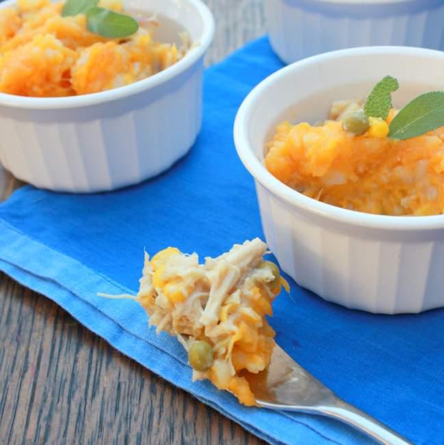 Chicken pot pie sweet potatoes