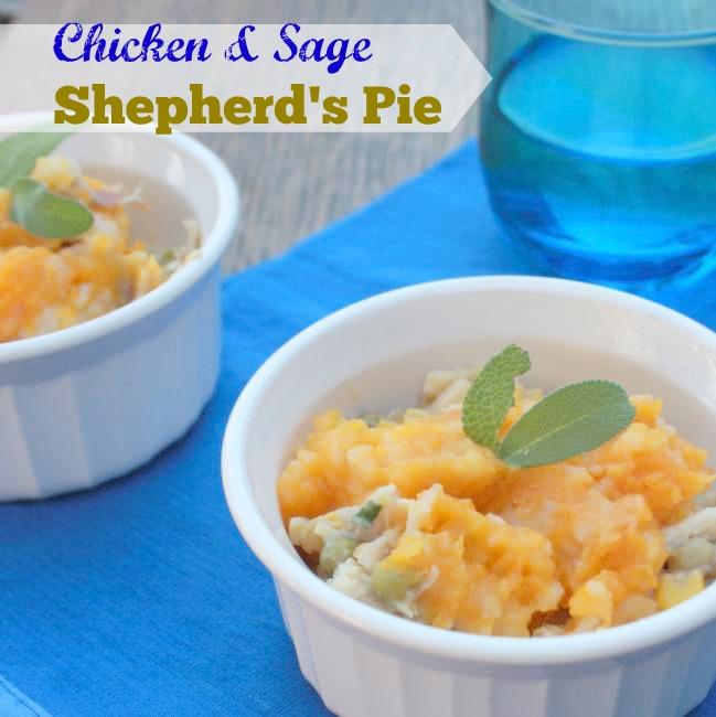 Chicken Sage Shepherd's Pie | TeaspoonOfSpice.com