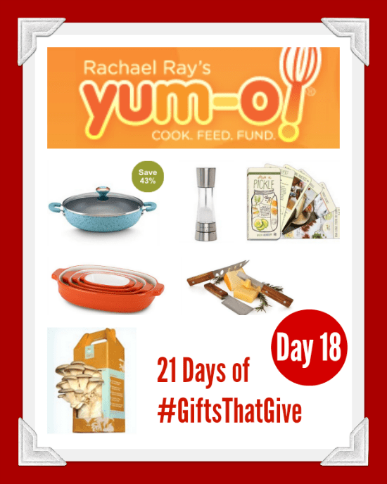 Day 18 of #GiftsThatGive: Yum-o