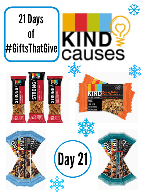 Day 21 of #GiftsThatGive: KIND Snacks