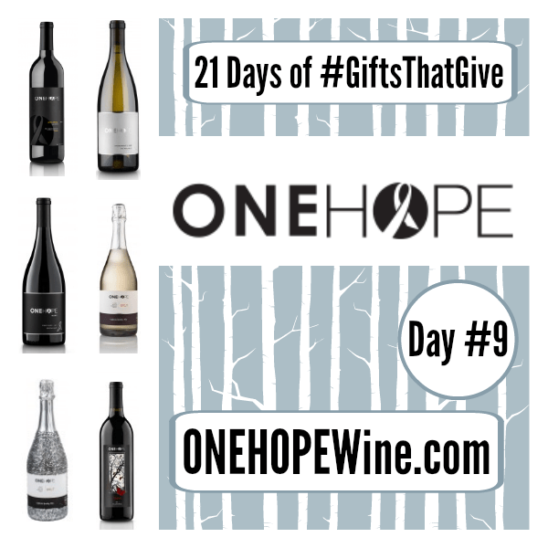 Day 9 #GiftsThatGive: onehopewine.com