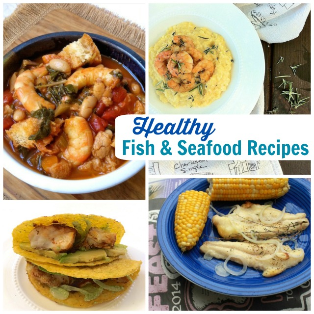 Healthy Fish & Seafood Recipes from Teaspoonofspice.com